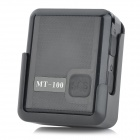 TWINMASK MT-100 Handheld GPS AGPS LBS Mini Spy Tracker w/ TF / Detectable Wristband - Black