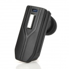 V6A Universal Rechargeable 2.4GHz Wireless Bluetooth V3.0 Handsfree Headset - Black