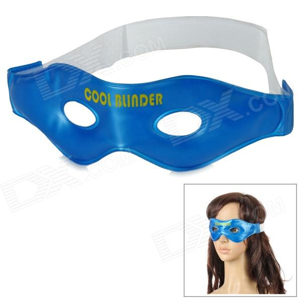 Multi-Functional Cool Eye-Care Mask for Tiredness / Engorging - Blue + White