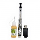 EGO-K(K3)+CE4-06 Quit Smoking USB Rechargeable E-Cigarettes w/ Atomizer - Silver + Black