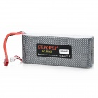 GE POWER 10000 11.1V 10000mAh 25C Lithium Battery Pack for R/C Helicopter - Black + Silver