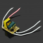 Buy JR-3w 3W LED Constant Current Source Power Supply Driver - Black + Yellow White Pink (100~240V)