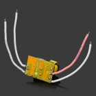 JR-3w 3W LED Constant Current Source Power Supply Driver - Black + Yellow + White + Pink (100~240V)