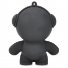 A17 6736 Cute Doll Mini Rechargeable 0.5W Speaker - Black
