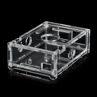 SMPD01 Protective Acrylic 6-Layer Storage Case for Raspberry Pi - Transparent