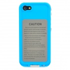 IPEGA I5008C Ultra-Slim ABS Water Resistant Case for Iphone 5 - Blue