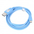 USB to Micro USB Charging Cable for Samsung / HTC / LG / Nokia / Xiaomi + More - Light Blue (100CM)