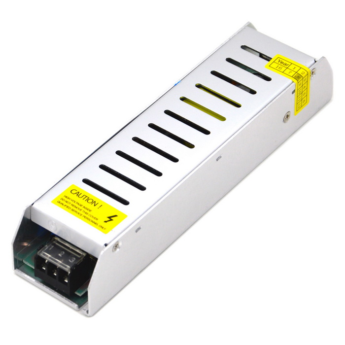 120W DC 12V 10A Switching Power Supply - Silver (DC 100~240V) ce rohs scn 600 24 single output switching power supply high quality 600w dc output 24v power supply
