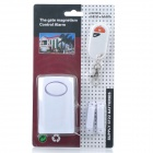 Home Security Door / Window Digital Wireless Remote Control Alarm System - White