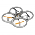 HCW553 2.4GHz Wireless 4-CH R/C Aircraft Toy - Silver + Black + Orange