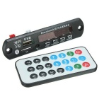 Bluetooth MP3 Decoding Board Module w/ SD Card Slot / USB 2.0 Port / FM / Remote - Black + White