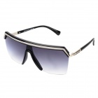 LANGTEMENG J58140 C5-210-10 UV400 Protection Acetic Acid Frame Resin Lens Men's Sunglasses - Black