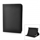 "Protective PU Leather Case w/ Stand for Tablets Within 9"" - Black"