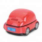 Cute Mini Car Shape Environmental Friendly Ashtray w/ Activated Carbon Filter - Red + Black