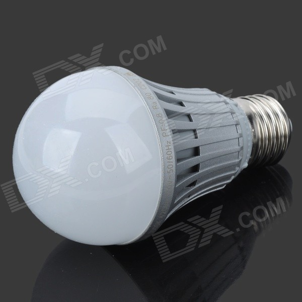 Firi-HBL05 E27 5W 410lm 3300K 10-SMD 5630 LED Warm White Lamp (AC 200~240V) - DXE27<br>Brand N/A Model Firi-HBL05 Material Die casting aluminum Color Silver Quantity 1 Emitter Type SMD 5630 LED Total Emitters 10 Power 5 W Color BIN Warm white Rate Voltage 200~240 V Chip Working Voltage 3.3V Luminous Flux 410 lm Color Temperature 2700~3300 K Wavelength No nm Connector Type E27 Application Great for home and business use. Features Beam angle: 120~180 degrees frequency: 50/60Hz Packing List 1 x LED bulb<br>
