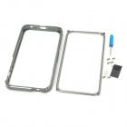 Protective Aluminum Alloy Bumper Frame for Iphone 5 - Silver Grey