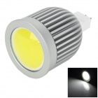 GTT-COB-5W GU5.3 5W 220lm 6500K COB LED White Light Spotlight - White (DC 12V)