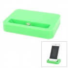 Charging Dock w/ Lightning Cable for iPhone 5 / iPod Nano 7 / Touch 5 - Green