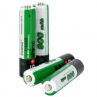"Soshine Replacement 1.2V ""900mAh"" Rechargeable NiMH AAA Battery - Green (4 PCS)"