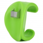 YM-1099 Plastic + Stainless Steel Corn Device - Green + Silver
