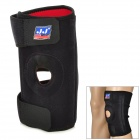 733 Protective Rubber + Nylon Knee Support w/ Stays for Basketball / Badminton / Volleyball - Black