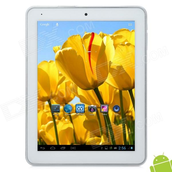 iaiwai AW920 8 capacitieve scherm Android 4.1 Quad Core Tablet PC w - TF - Wi-Fi - Camera - Zilver