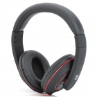 WISS Audio HP-P246 Headphones w/ Microphone / Line Control - Black + Red (3.5mm Plug / 130cm-Cable)