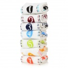 BS-C31-3876 Sport Cotton Socks for Men - White (7 PCS)