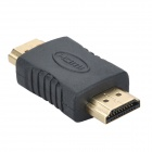 GreenConnection 20102 HDMI Male to Male Adapter - Black + Golden