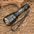 C8 Cree XM-L U2 800~1040lm 5-Mode White Flashlight - Black (1 x 18650)
