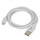 Umiqu USB Stecker an Apple 8 Pin Blitz Aufladen + Datenkabel für iPhone 5 - White