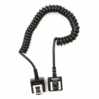 YONGNUO FC-681/S TTL Off-Camera Flash Shoe Sync Cord for Canon 580EX II + More - Black (100CM)