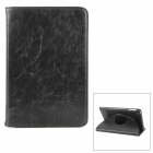 NEWBABY Protective PU Leather Case w/ Holder for iPad Mini - Black