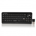 DITTER M7 Wireless 2.4GHz Wireless 51-Key Keyboard + Scrolling Wheel Air Mouse - Black