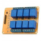 Meeeno MN-MD-R0812 8-Channel 12V Relay Module Expansion Board - Orange + Blue