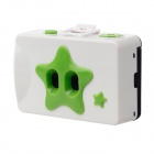 Twins Star 35mm Film Dual Lens Camera - White + Green