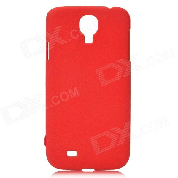 Protective Plastic Case for Samsung Galaxy S4 i9500 - Deep Red london street style protective plastic back case for samsung galaxy s4 i9500 black red