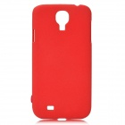 Protective Plastic Case for Samsung Galaxy S4 i9500 - Deep Red