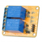 Meeeno MN-MD-R0212 2-Channel 12V Relay Module Expansion Board - Orange + Blue