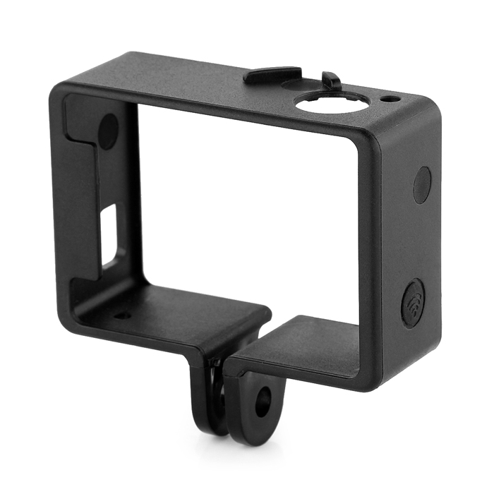 Portable Plastic Fixed Frame Case for Gopro Hero 4/ 3 - Black