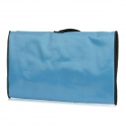 Aotu r3 Oxford Cloth portátil Water Resistant Toilet Bag / Kit Higiene Corporal / Wash Bag - Blue Light