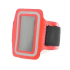 Stylish Sports Neoprene Armband for Ipod Nano 7 - Red