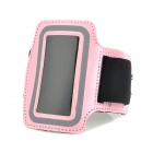 Stylish Sports Neoprene Armband for Ipod Nano 7 - Pink