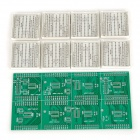 DIYTJ 16 x 32 Dual-Color Dot Matrix Module Kit - Green + White