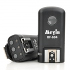 Meyin RF-604 Wireless Grouping TTL Flash Trigger Set for Nikon D800 / D600 / D7000 / D90 - Black