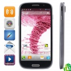 THL W8 Android 4.1 WCDMA Bar Phone w/ 5.0' Capacitive Screen, Wi-Fi, GPS and Dual-SIM - Grey