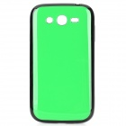 Protective TPU Back Case for Samsung Galaxy Grand Duos i9082 - Green + Black