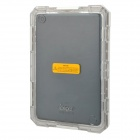 Fashionable Waterproof Protective Case w/ Strap for Ipad MINI - White