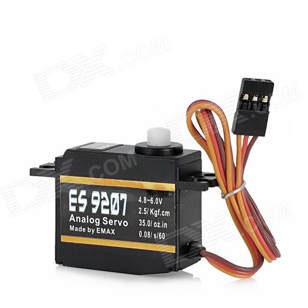 EMAX ES9207 Metal Gear Analog Servo for Helicopter / Robot - Black велосипед scott contessa spark 720 plus 2017