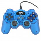 New USB Wired PC Game Controller - Blue